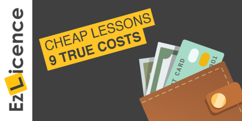 9 True Costs of Cheap Driving Lessons