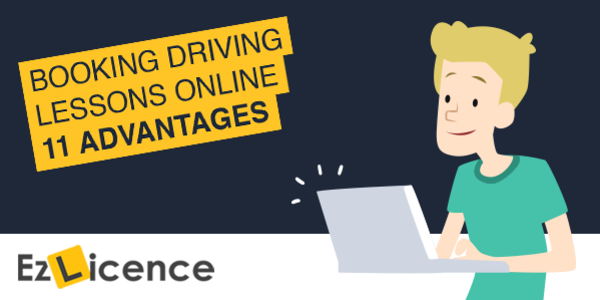 11 Advantages of Booking Driving Lessons Online