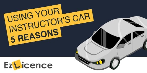 5 Reasons Why You Should Book A Driving Instructors Car For Your Test
