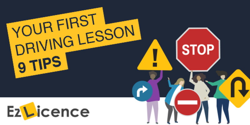 9 Tips Before Your First Driving Lesson Ever